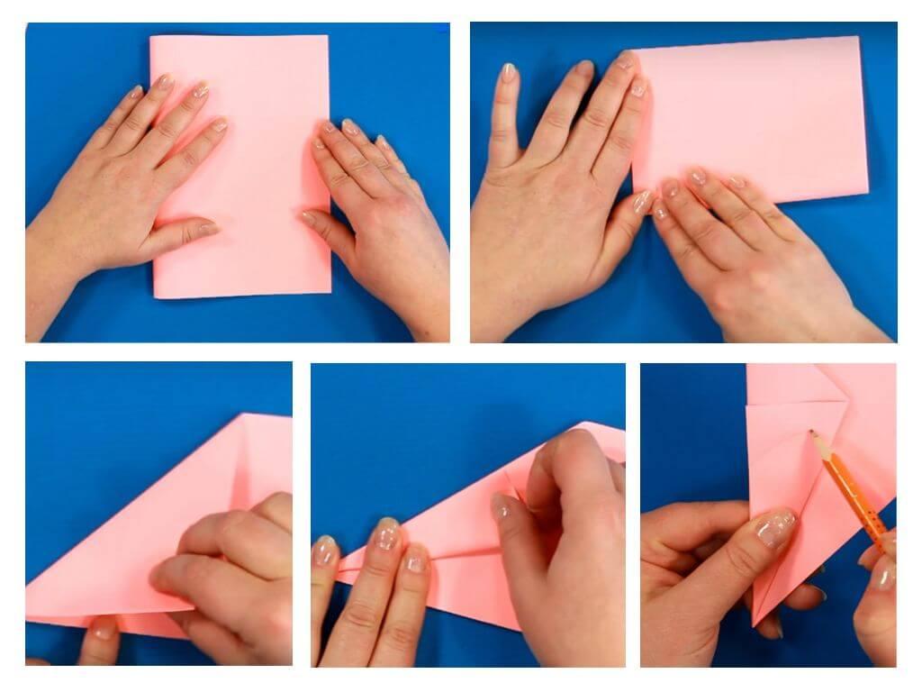 как сделать бесконечную открытку из бумаги поэтапно ветром надуло фото