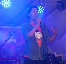 Dave Diebold at the Ham Sandwich gig