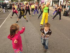 Street Party Dancers
