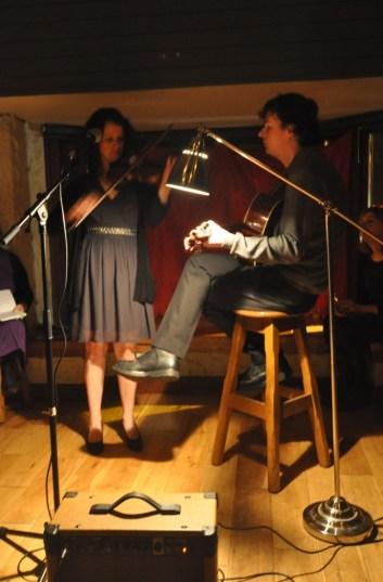 Laura McGuire and Darren Hughes