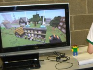 Minecraft display