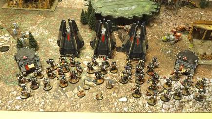 Armies on Parade: Deathwatch, photo by: Leonard Dime