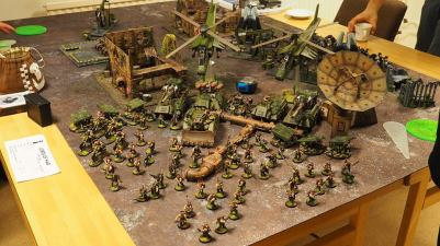 Armies on Parade: Imperial Guard, photo by: Leonard Dime