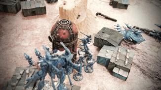 Eldar Wraith constructs advance through the wasteland. Photo: Leonard Dime