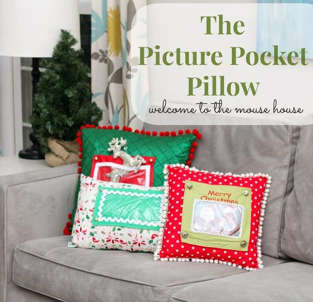 Picture Pocket Pillow  Scattered Thoughts of a Crafty Mom