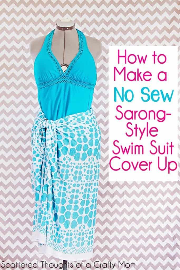 Sarong Pattern : sarong, pattern, Swimsuit, Cover, Minutes, Flat!