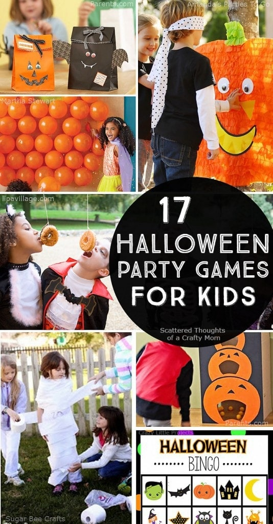 22 halloween party games