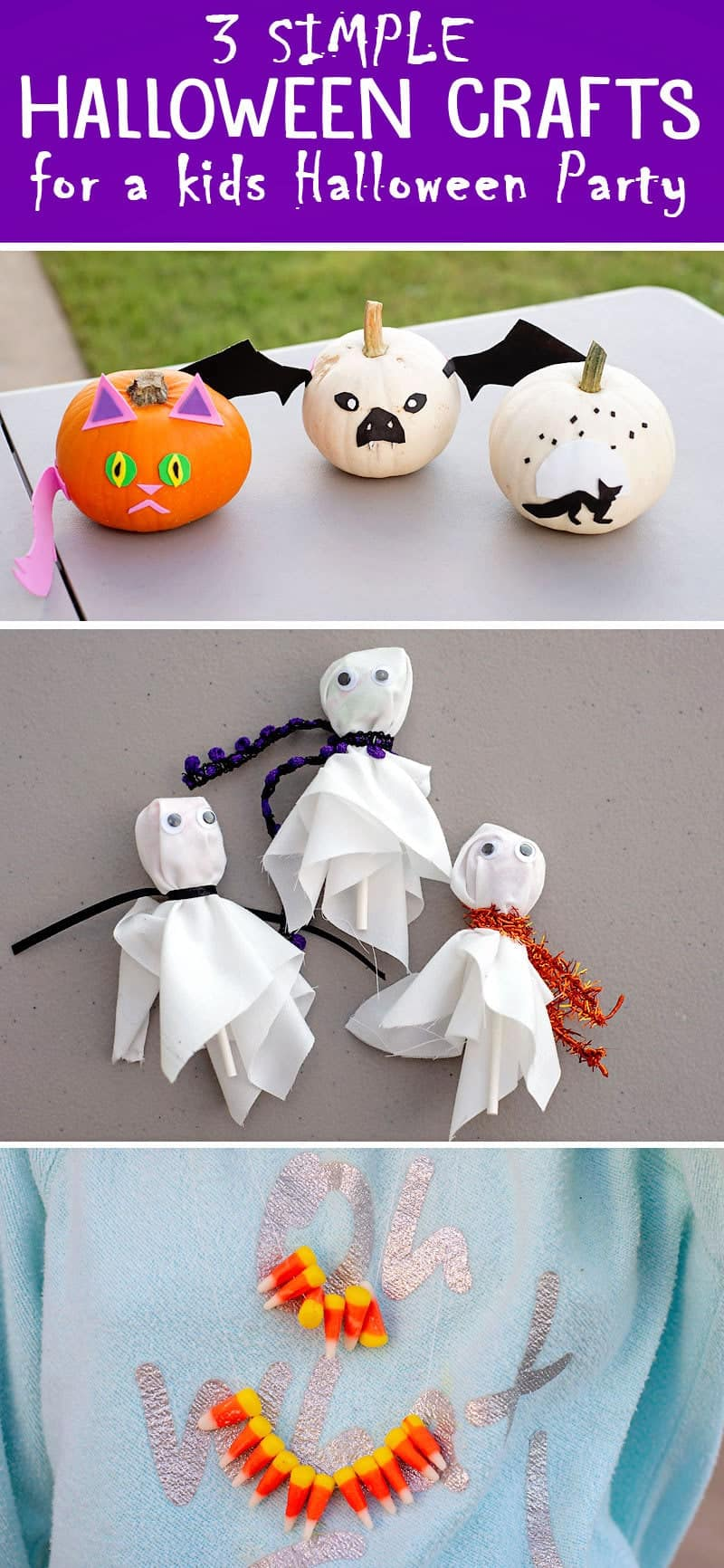 simple halloween party craft