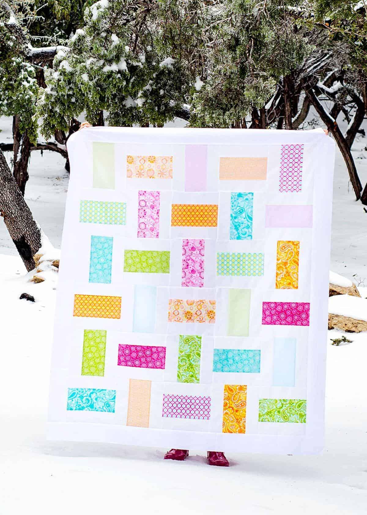 Basket Weave Quilt Pattern : basket, weave, quilt, pattern, Simple, Basket, Weave, Quilt, Pattern, (using, Layer, Cake), Scattered, Thoughts, Crafty, Jamie, Sanders