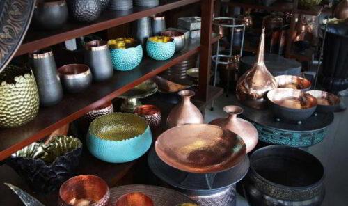 Kerajinan Logam dan cara pembuatannya