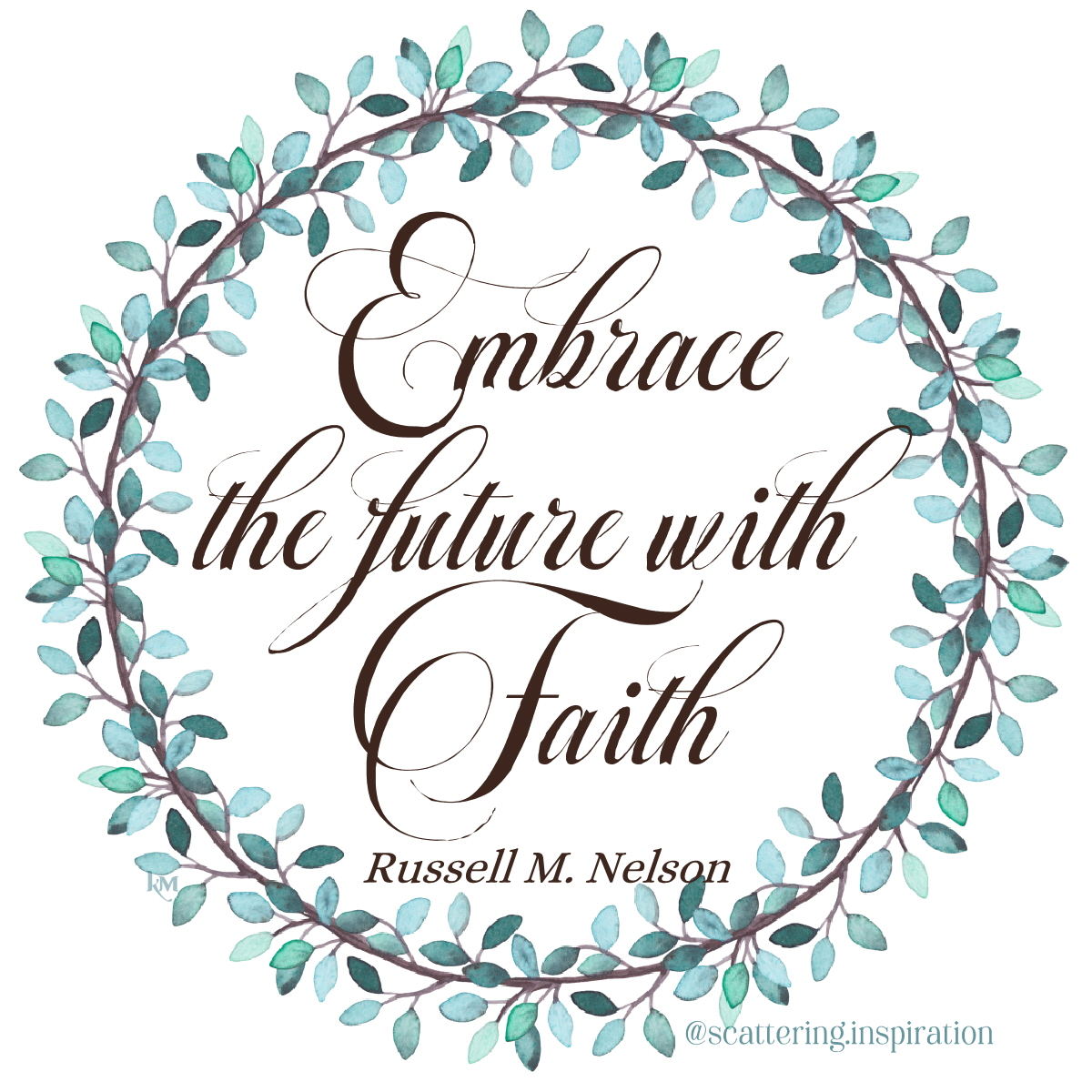 embrace the future with faith