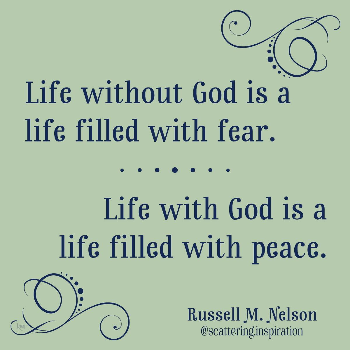 fear peace