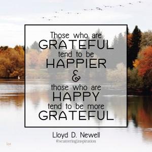 grateful happier