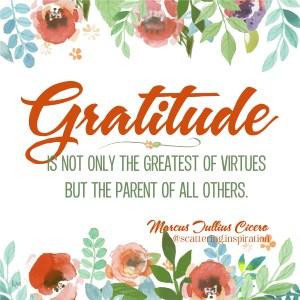 gratitude greatest virtue