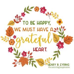happy grateful heart