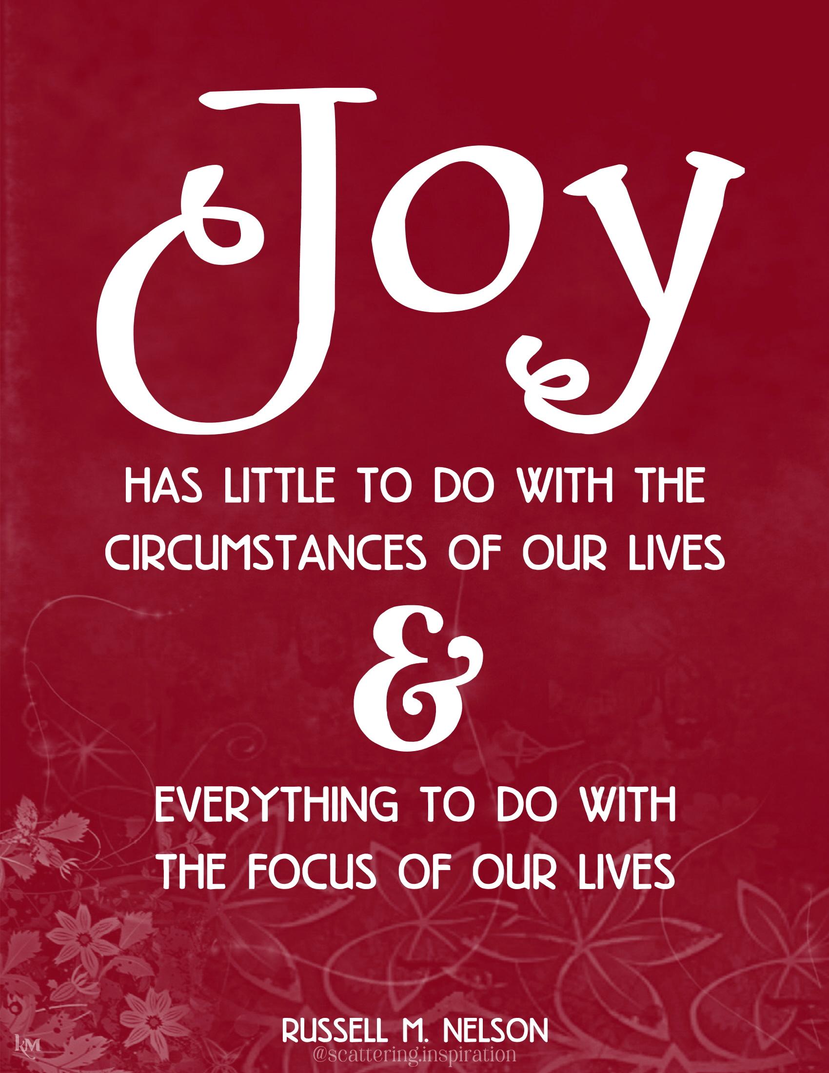 joy has