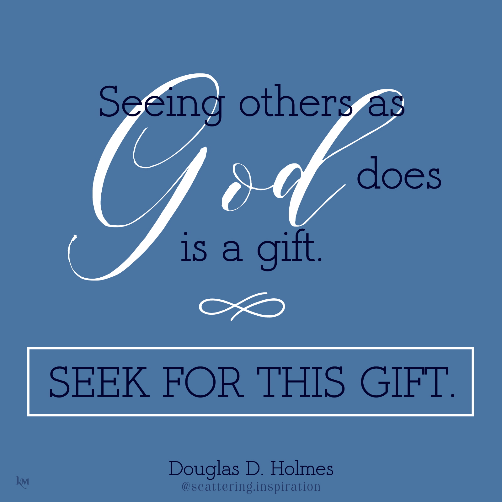 seek for this gift