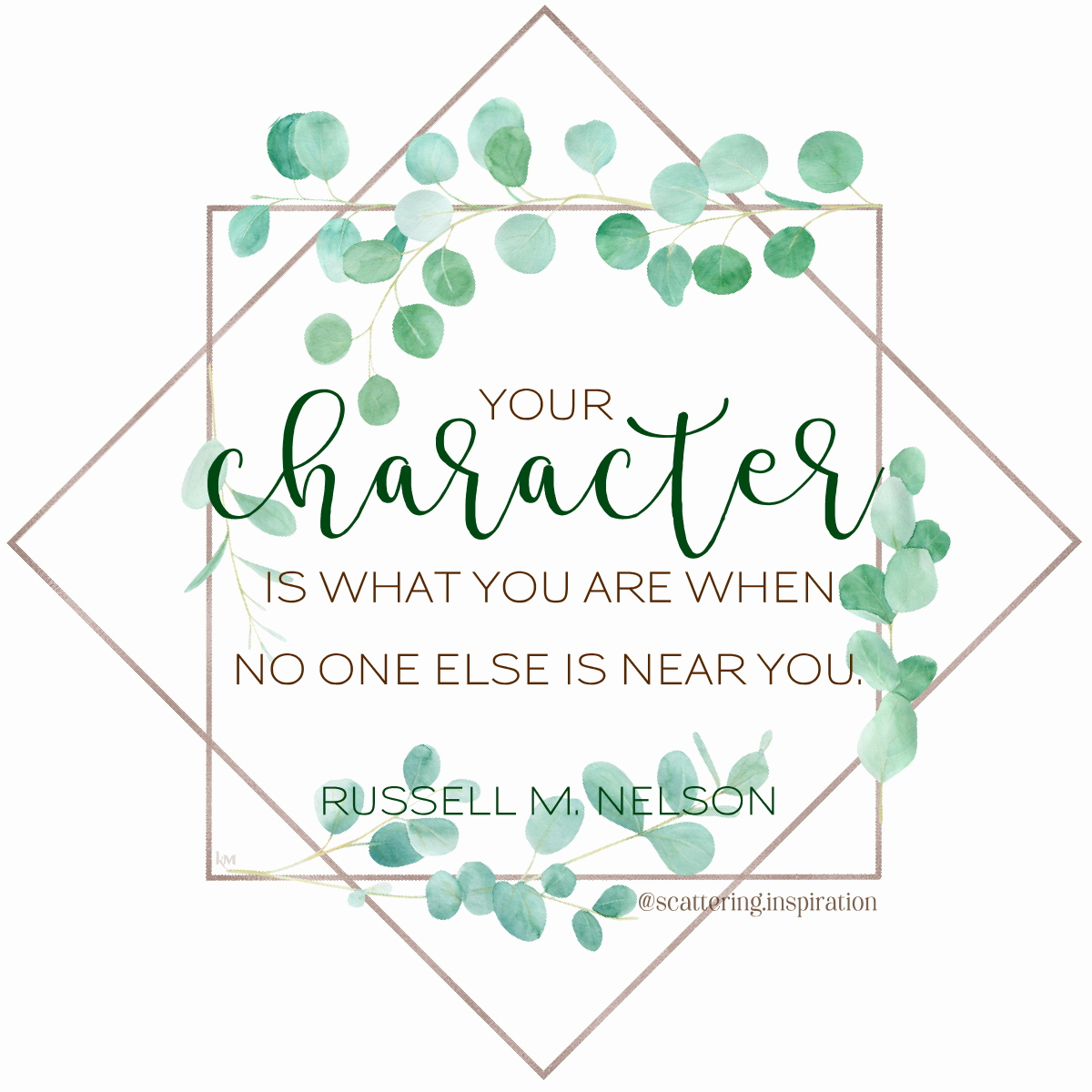 your character