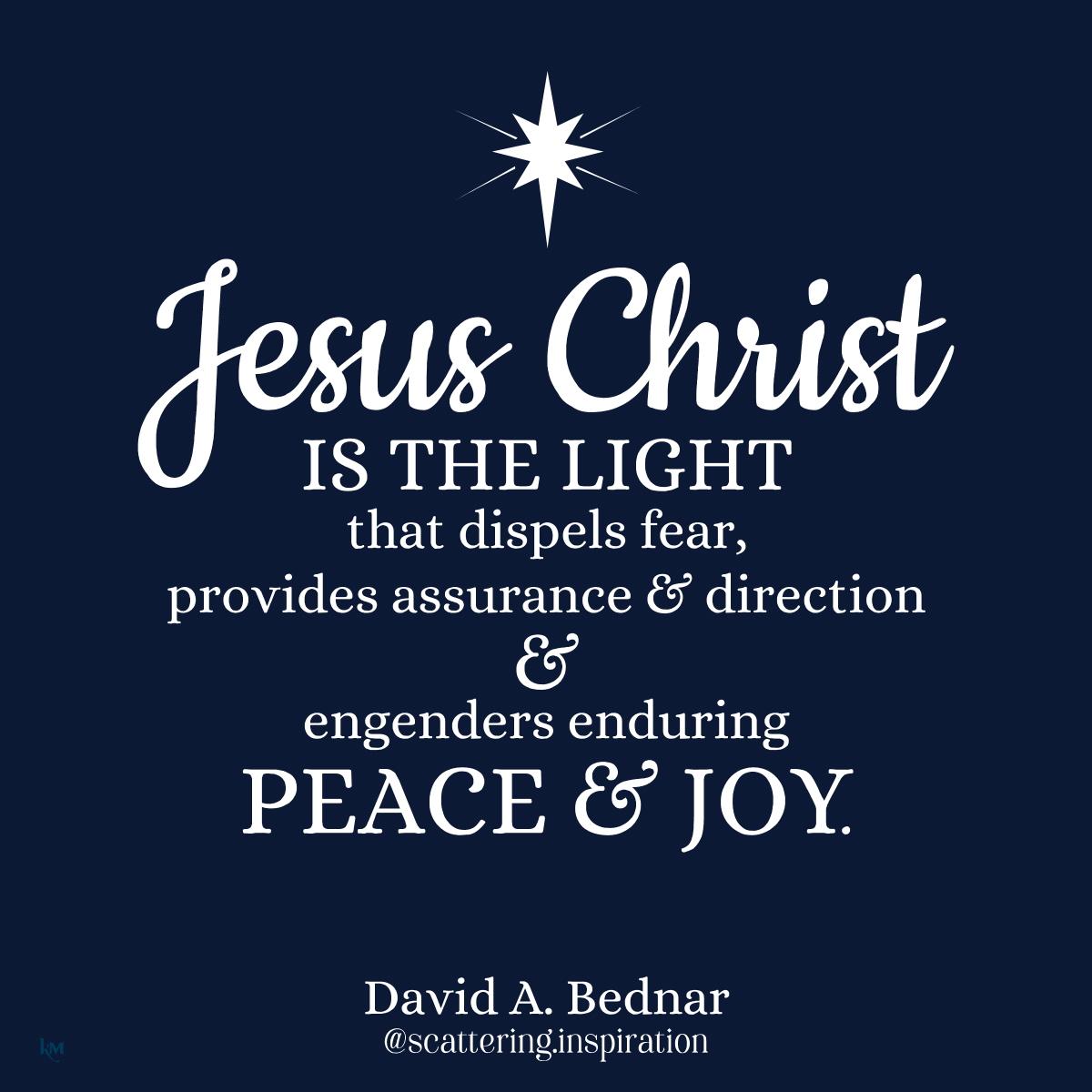 Jesus Christ is the light
