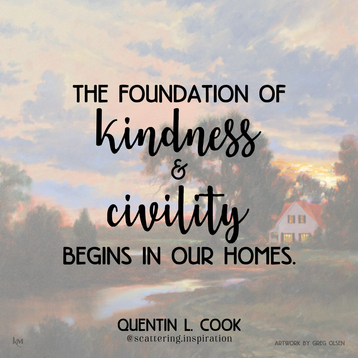 kindness and civility