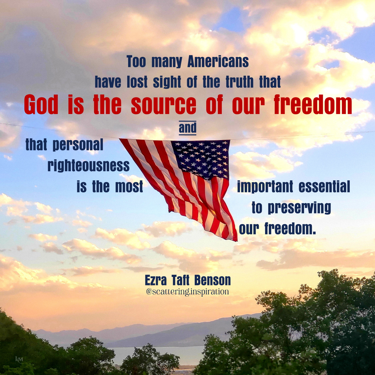 our freedom