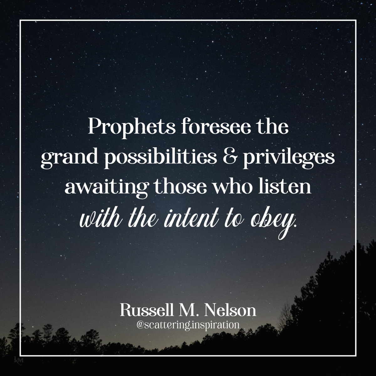 prophets foresee