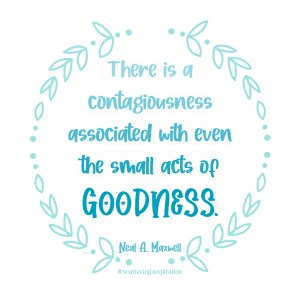 small acts of goodness