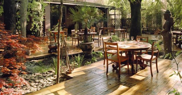 Milano 10 Ristorant Con Giardino Per Mangiare All'aperto