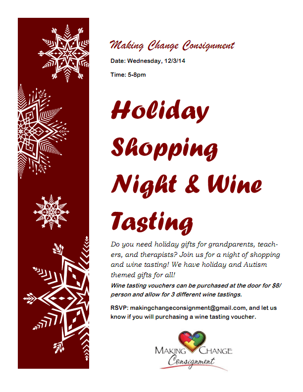 Holiday Shopping Event Flyer PDF_001