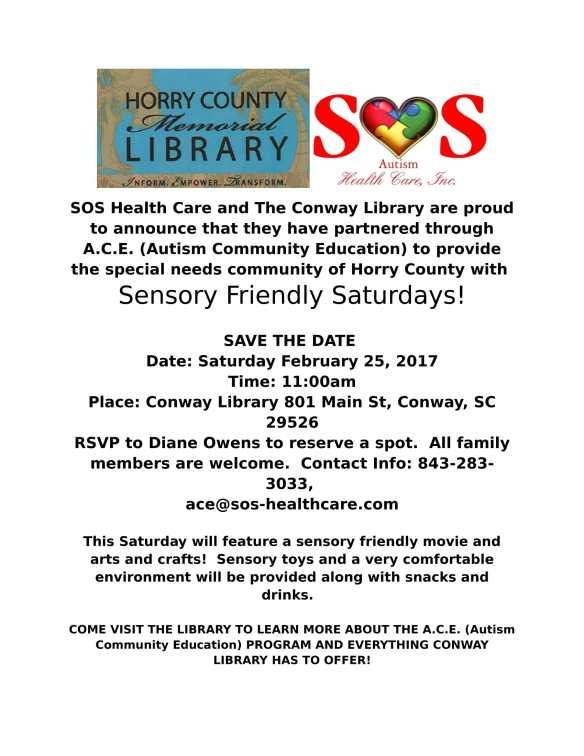 Feb 25 - Conway SF Sat