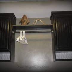Refacing Kitchen Cabinets Diy Ft Myers Fl Laminate And Oak  Scavenger Chic
