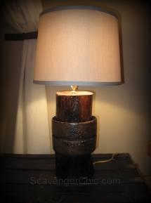 Upcycled Whatchamacallit Lamp Diy - Scavenger Chic