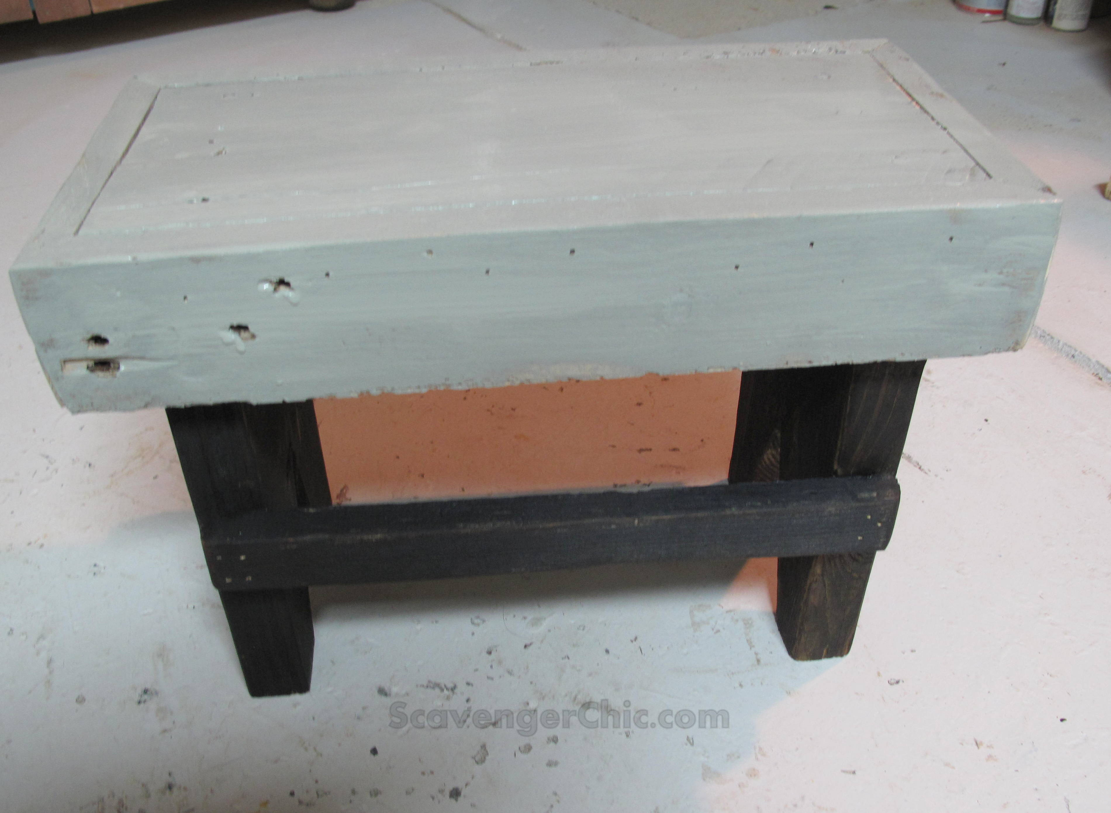 Incredible Easy Rustic Step Stool Diy Scavenger Chic Creativecarmelina Interior Chair Design Creativecarmelinacom