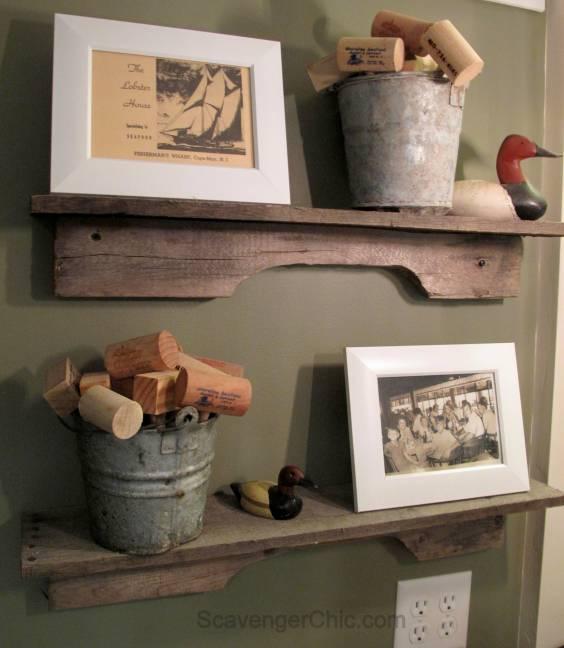 Pallet Wood Shelf: Easiest Pallet Wood Project Ever….
