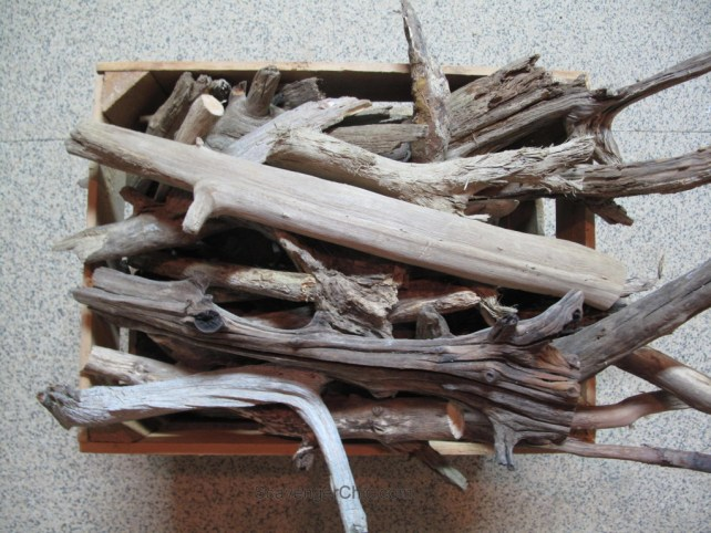 No Wiring Easy Driftwood Lamp Scavenger Chic