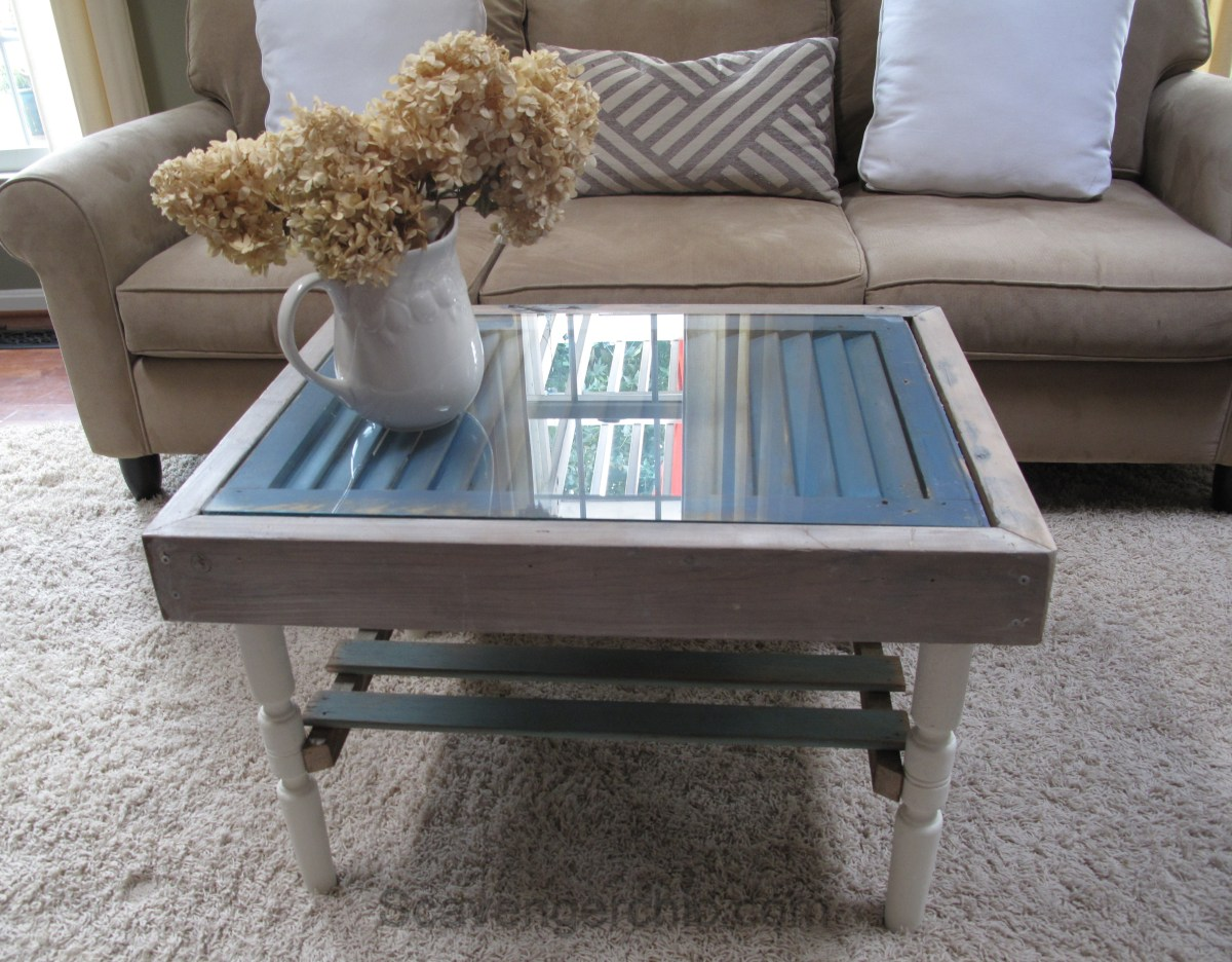 Shutter And Slats Coffee Table Scavenger Chic