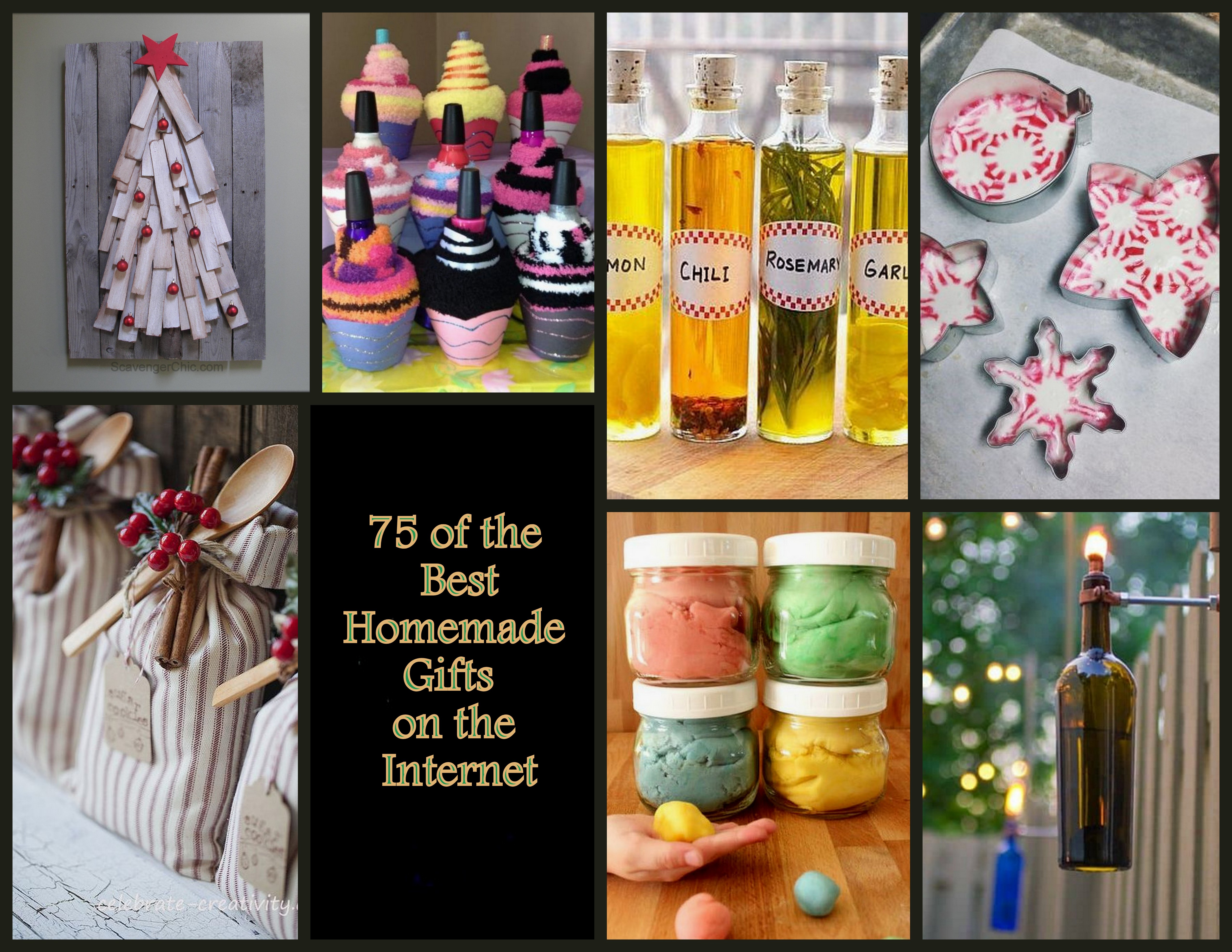 75 Of The Best Homemade Gift Ideas Scavenger Chic