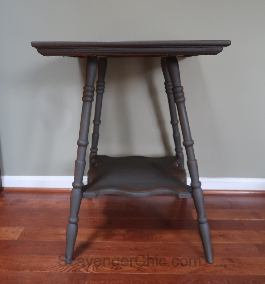 Wobbly Table Fix And Makeover Scavenger Chic