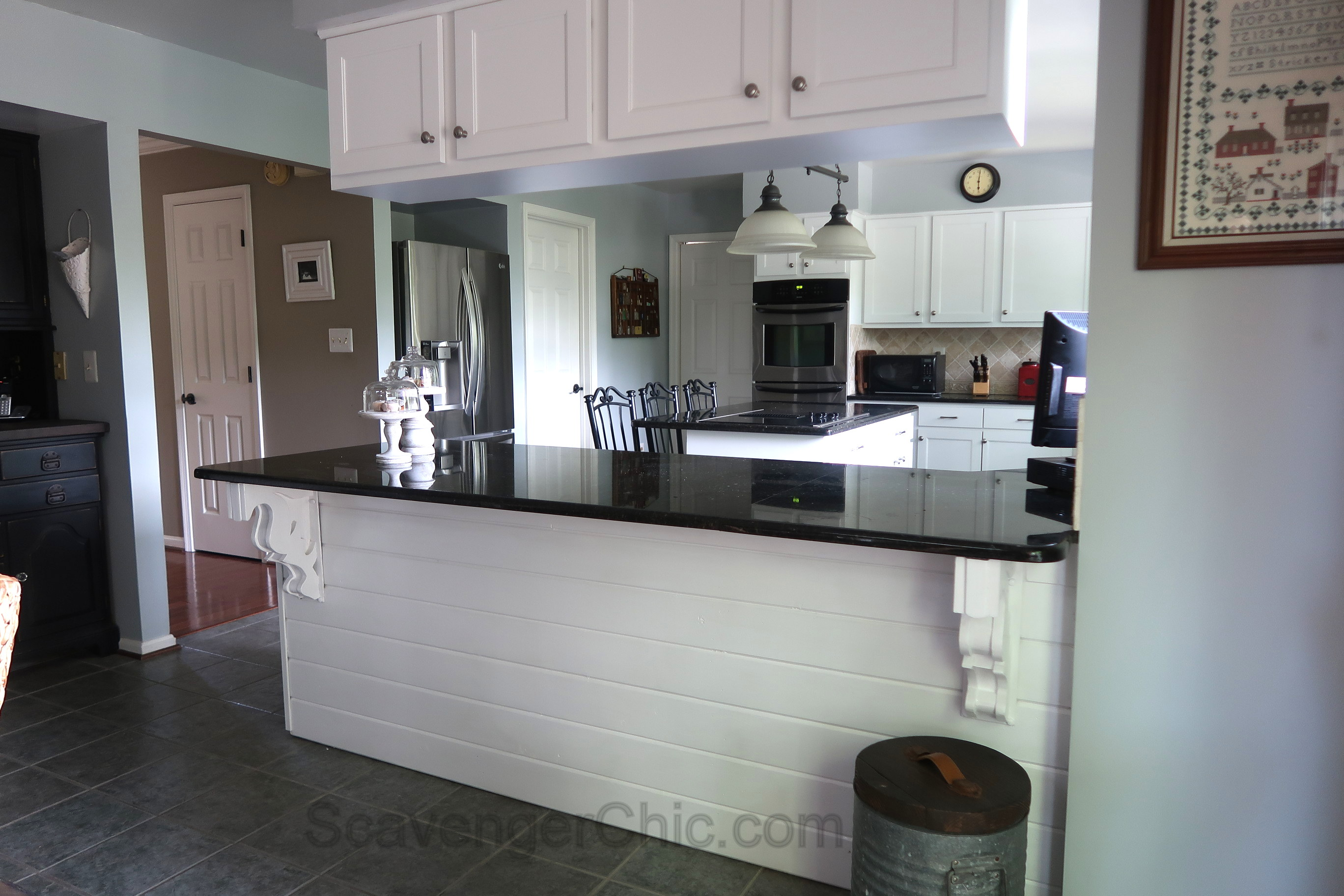 Corbels And Shiplap In The Kitchen Scavenger Chic