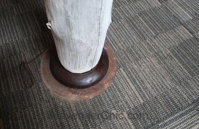 Diy Tree Floor Lamp Scavenger Chic