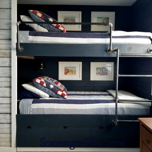 Bunk Bed Fitted Quilt Diy Scavenger Chic