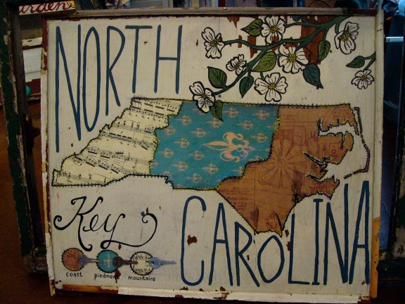 An ode to NC. Good thing it sold there!