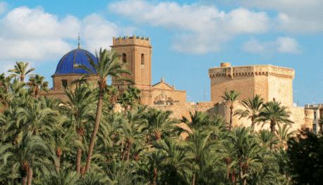 Elche, Basilica de Santa Maria y Palacio de Altamira