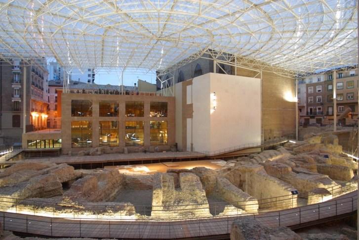 017. Teatro de Caesaraugusta. Autor Félix Bernad