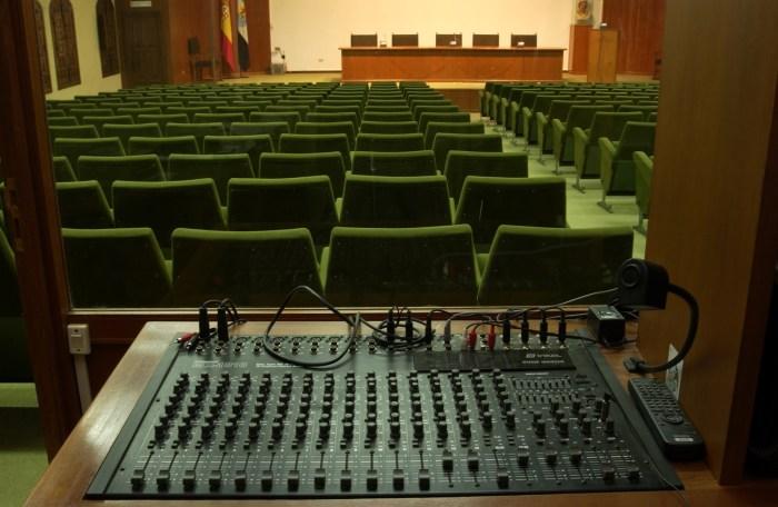 SCB Spain Convention Bureau. Cáceres. Complejo Cultural San Francisco Sala Malinche