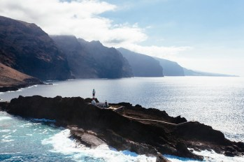 SCB Spain Convention Bureau. Tenerife. Faro Punta Teno - Gigantes