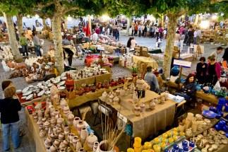 Feria cerámica en San Pedro