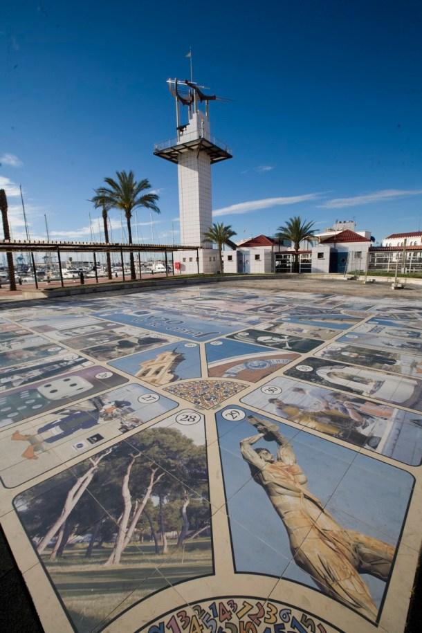 SCB Spain Convention Bureau - Castellón -Grao - Puerto de ocio (juego de la oca)