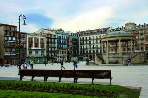 Pamplona. Plaza del Castillo (3)