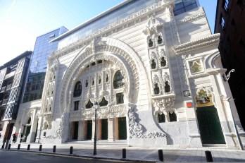 SCB Spain Convention Bureau. Bilbao. TEATRO CAMPOS FACHADA PRINCIPAL